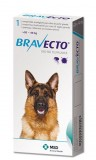 Bravecto Flea and Tick Protection Dog 20 - 40kg (44 - 88 lbs) 1 chew - free shipping
