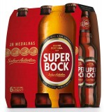 """Cerveja """"Super Bock"""" - Pack 6x33cl"""