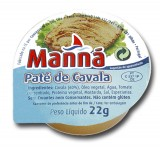 """Paté de caballa """"Manná"""" - PACK 24 un x 22gr"""