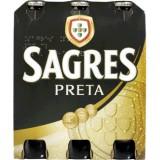 "Cerveja Preta ""Sagres"" - Pack 6x33cl"