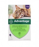 Pack 4 Bayer Advantage 80 Cat over 4kg - free shipping
