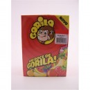 """Gomas """"Gorila"""" Banana x 100"""