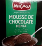 "Mousse de Chocolate com Menta ""Micau"""