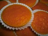 Pasteles secos - Mini Queijadas de Cenoura
