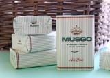 """Sabonete """"MUSGO REAL ACH BRITO"""" - Pack 4 x160gr"""