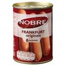 """Salsichas """"Nobre"""" - 6 un"""