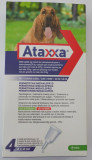 Ataxxa Extra Large dog 25kg - 40kg - 4 pipettes Spot on - FREE SHIPPING