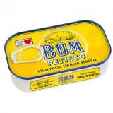 """Atum """"Bom Petisco"""" em óleo vegetal"""