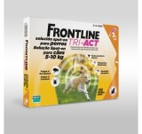 FRONTLINE TRI - ACT For Dogs 5kg - 10kg 3 pipettes - free shipping