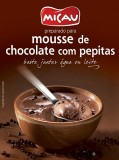 "Mousse de Chocolate com Pepitas ""Micau"""