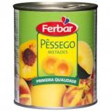 """Pêssego """"Ferbar"""" - 825gr"""