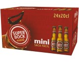 "Cerveja ""Super Bock"" Mini - Pack 24x20cl"