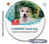 Flea and Tick Protection Bayer Seresto Collar Flea & Tick for Small Dog Under < 18lb (8Kg) - 8 Months Protection - FREE SHIPPING WORLDWIDE