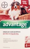 Pack 4 Bayer Advantage 250 Large Dog 10Kg - 25Kg- free shipping
