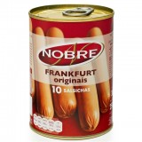 """Salsichas """"Nobre"""" - 10 un"""