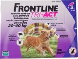 FRONTLINE TRI - ACT For Dogs 20kg - 40kg 3 pipettes - free shipping