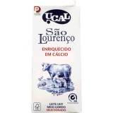 """Leite Meio Gordo """"UCAL"""" São Lourenço - Pack 6x100cl"""