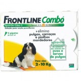 FRONTLINE Combo For Dogs 2kg - 10kg 3 pipettes - free shipping