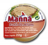 "Paté de Atún ""Manná"" - 24 un x 22gr"