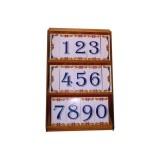 Azulejos de letras / numeros