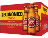 "Cerveja ""Super Bock"" Mini - Pack 20x25cl"