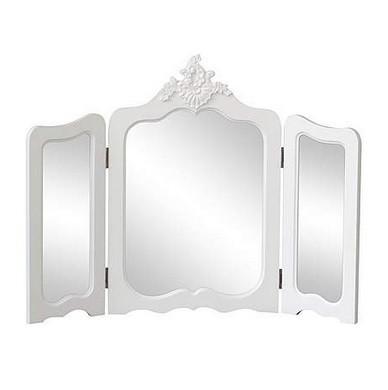 Oga52 - Oglinda Masuta De Toaleta Dormitor - Alb