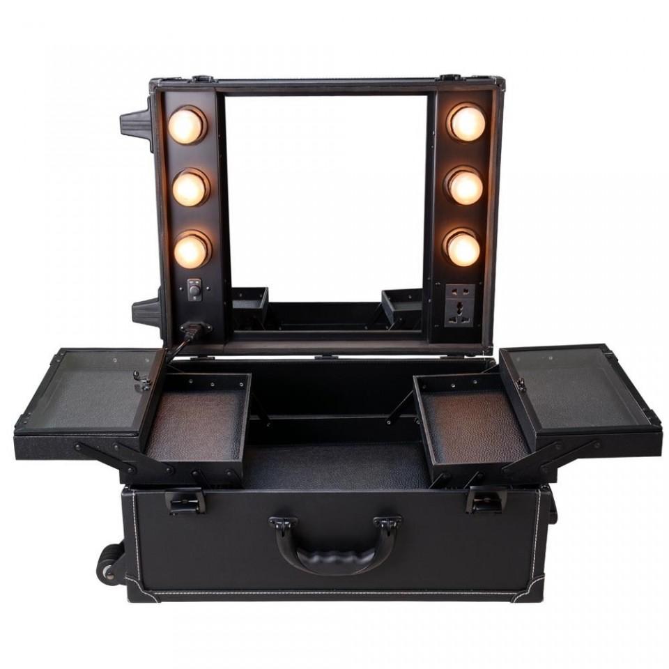 Stn102 Statie Makeup Portabila Troler Organizator