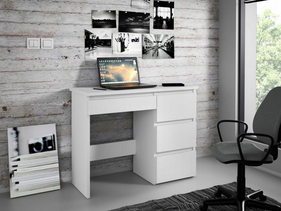Masa Birou Office Alb Maro Crem