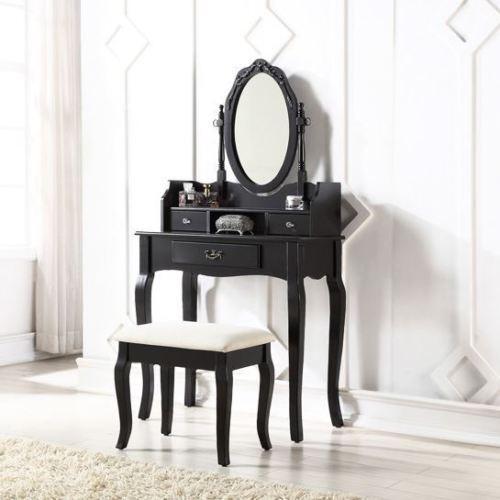 Sen105 - Set Masa Neagra Toaleta Cosmetica Machiaj