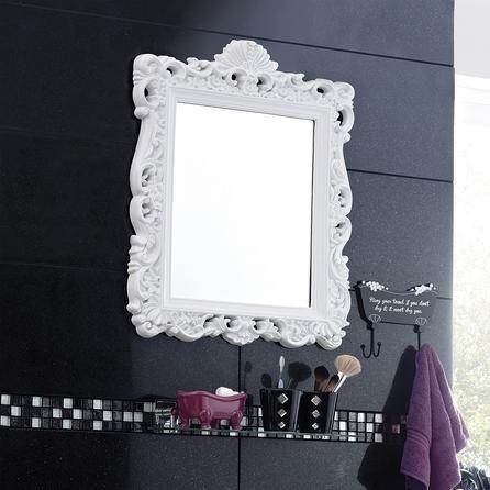 Oglinda Perete Dormitor/living/baie Alb