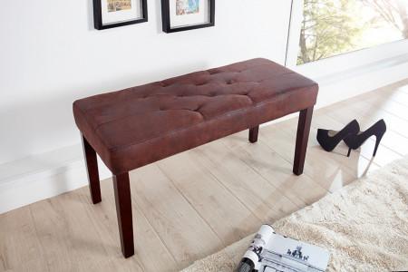 BAM222 - Bancuta 90 cm, bancheta, banca living, dormitor, hol - Maro