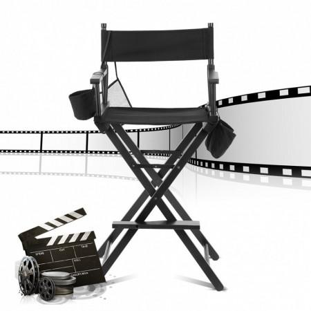 SCN103 - Scaun Makeup, machiaj, cosmetica portabil, scaun tip regizor