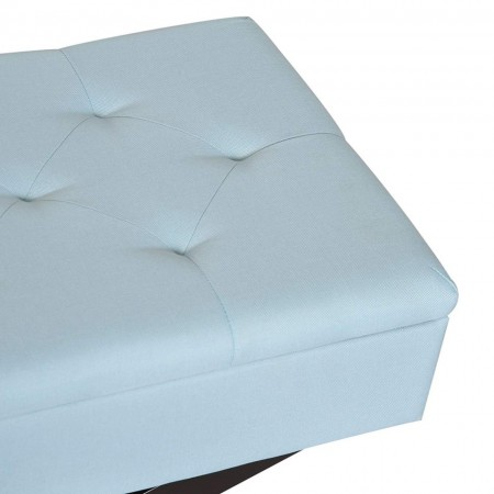 BAAL101 -Bancuta, Canapea, fotoliu, sofa, bancheta, banca living, dormitor, hol, lada, ladita depozitare - Albastru deschis