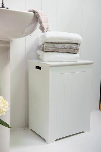 CORA201 - Cos de rufe alb, 40 cm - Mobilier Baie