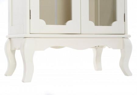 DUC102 - Dulap, vitrina rafturi, living, baie, dining - Crem / Ivory