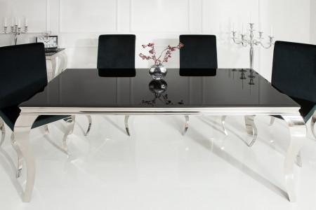 MAG202 - Masa 200 cm pentru living, dining - Argintiu sau Negru