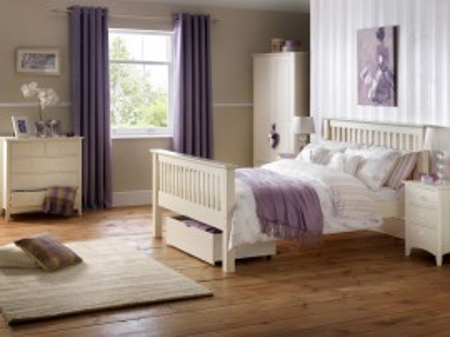 COA109 - Comoda, dulap cu sertare living, dormitor - Alb