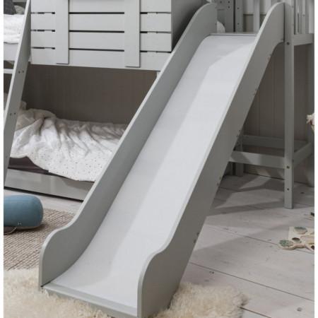TOAC101 - Tobogan pentru pat casuta - Alb, Gri