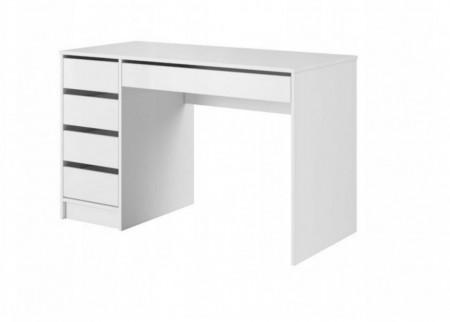 BIA509 - Masa de Birou 120 cm, office - Alb mat sau lucios