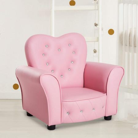SCRC201 - Mini fotoliu, scaun, scaunel, divan Copii - Roz