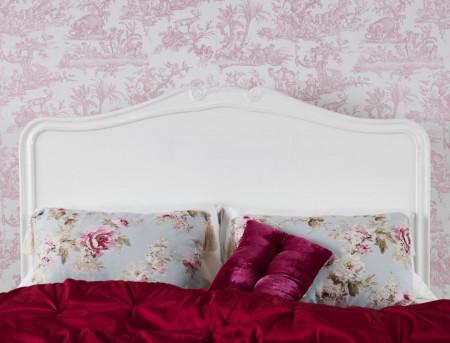 PAA106 - Pat alb pentru dormitor - Colectia Genova