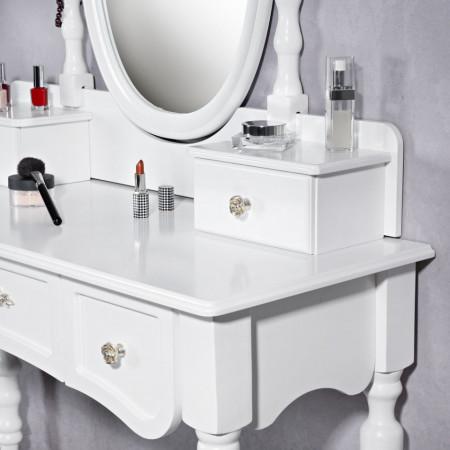SEA1 - Set Masa Alba toaleta cosmetica machiaj oglinda masuta