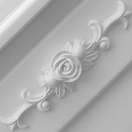 SEA301 - Set Masa alba toaleta, 50 cm, cosmetica machiaj oglinda masuta vanity