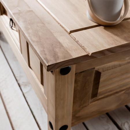 MAM201 - Masuta de cafea Masa living cu 1 sertar - Maro