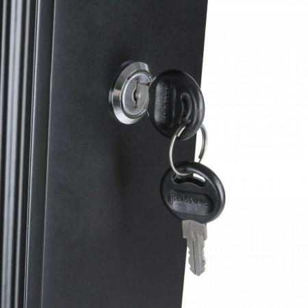 OGN8 - Oglinda caseta de bijuterii cu sau fara lumini, dulap, dulapior perete dormitor, dressing - Negru