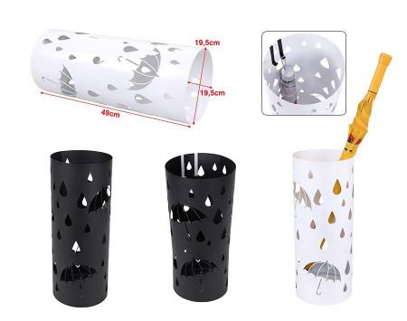 SUN203 - Suport depozitare umbrela, baston pentru hol, metal - Negru