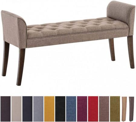 BAC202 - Divan, Canapea, fotoliu, sofa, bancheta, bancuta, banca living, dormitor, hol - Crem