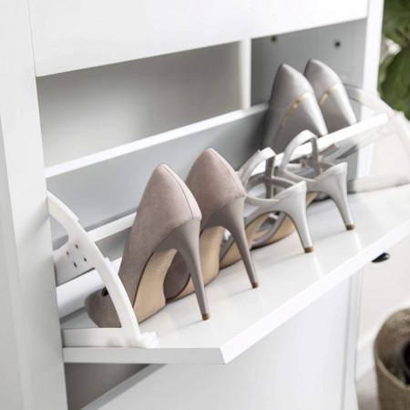 COA129 - Pantofar alb, 76 cm, pentru hol - Lisabona