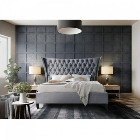 PAG601 - Pat tapitat pentru dormitor - 160/180 x200