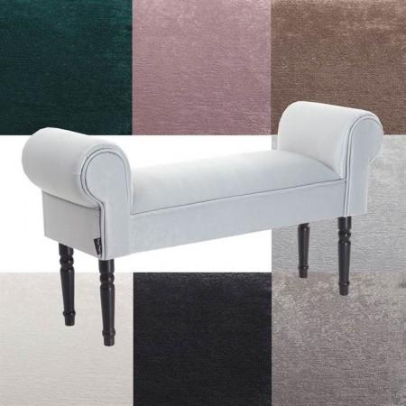 BAN221 - Divan, Canapea, fotoliu, sofa, bancheta, bancuta, banca living, dormitor, hol: Alb